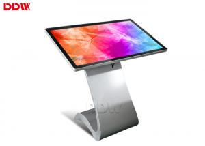 China Stand Alone 55 Inch Touch Screen Information Kiosk Hire App / Wifi / Software Control on sale