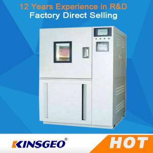 China 400kg Temperature Humidity Test Chamber With PLC Touch Screen Controller on sale