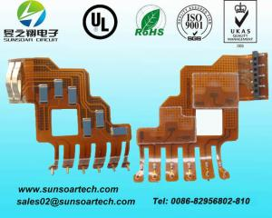 China ENIG flexible pcb, FCCL flexible circuit, 2-layer fpc assembly on sale
