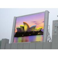 China Waterproof Outdoor Big Screen Led TV HD Led Display With Pixel Pitch 10mm RGB on sale