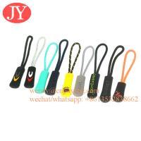 Jiayang Durable nylon cord Zipper Pull Zipper Tags Cord Pulls Zipper