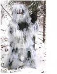 Terno nevado de Ghillie do inverno do terreno, terno da camuflagem para caçar, várias cores impermeáveis de Camo