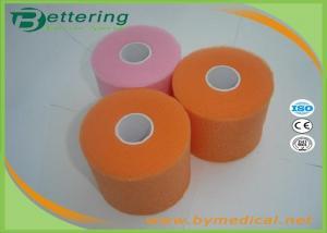 Orange Colour Foam Bandage Underwrap Sports Tape Bandage 7cm