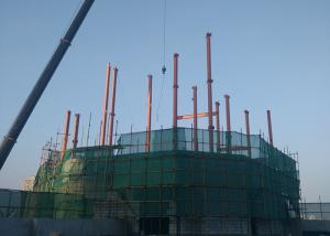 China Fast Construction Steel Structure Office High Rise For Exhibition Area on sale
