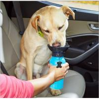 2017 hot auto dog mug,pet cup out drinking water,newest travel dog water bottle  china supplier  Pet Outdoor Water Drink