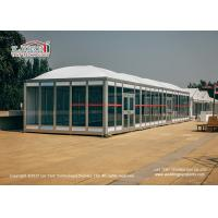 China 6x6m Modular cube Outdoor Party Tent with Thermo Roof for Luxury Event on sale