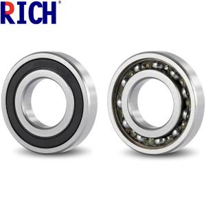 China Chrome Steel 62 / 32 Tensioner Pulley Bearing Grease Or Oil Lubrication on sale