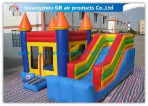 China Inflatable Bounce House Slide , Colorful Inflatable Jumping Castles For Rent on sale