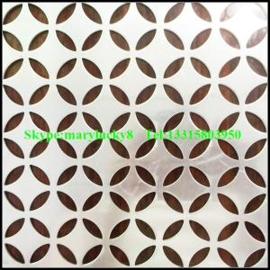 China Aluminum perforated sheet/perforated sheet manufactures/perforated aluminum sheet on sale