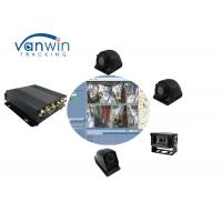 China GPS Google Map 4CH SD 4G car digital Taxi video recorder MDVR system 24/7 monitoring with WIFI router on sale