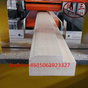 China Hegu wood plastic composite material solid WPC  door frame making machine on sale