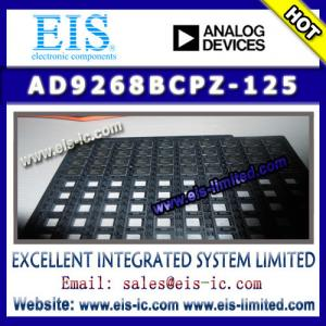 China AD9268BCPZ-125 - ADI (Analog Devices) - 16-Bit, 80 MSPS/105 MSPS/125 MSPS, 1.8 V Dual Anal on sale