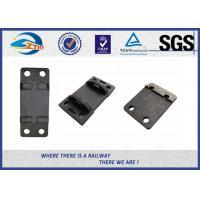 Double Shoulder Forged Cast Rail Base Plate Hole Diameter 10MM