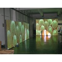 Aluminum Full Color Indoor SMD Led Stage Backdrop Screen P10 3528 Pixel