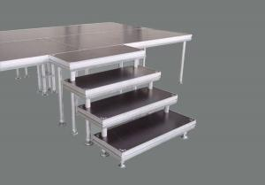 China aluminum  stage portable stage with portable stairs on sale