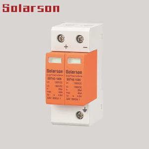 China 500V DC SPD Surge Protective Device Surge Protector Type II 2P for Solar System on sale