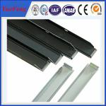 grande extrusion solaire en aluminium en gros de cadre, cadre en aluminium de panneau solaire d'OEM