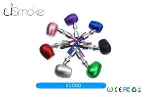 China Wooden / Metal E Pipe K1000 Vaporizer Kamry E Cigarette Mod Kit 18350 Battery on sale