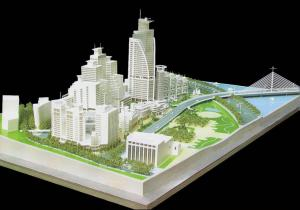 Residential Miniature Architectural Model Maker , Land Use