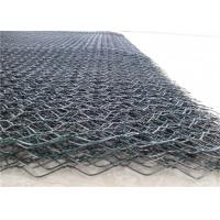 China Flexible PVC Coated Gabion Box / Wire Mesh Gabion Basket For Road Protection on sale