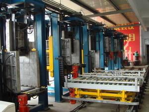China Refrigerator Automated Assembly Line , 6-station Cabinet Foaming Lines on sale