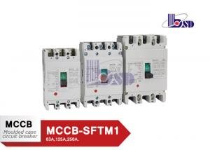 China 3 Phase  Moulded Case Circuit Breaker 200amp Mccb Circuit Breaker With Copper Contact on sale