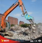 BEIYIの二次破壊を造るための油圧pulverizerの付属品の補強鋼鉄ブレーカ