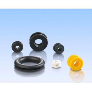 China EPDM rubber cable grommet Black Molding Rubber Parts on sale
