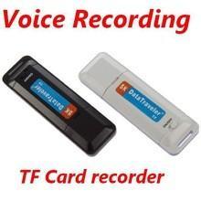 China 2 in 1 Mini U-Disk Digital Audio Record USB 2.0 Voice Recorder on sale