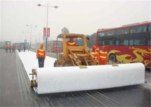 China Slope Protection Filter Layer 0.9mm Needle Punched Geotextile on sale