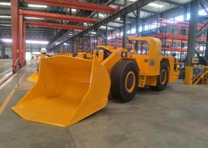 China Excavated Load Haul Dump Truck , 3m³ Underground Mining And Tunnel Equipment Scooptra Loader on sale