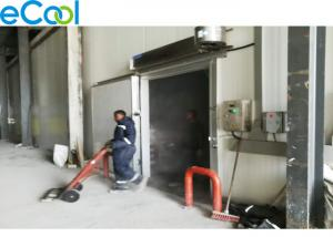 China Low Noise Energy Saving Cold Room Warehouse Air Cooled For Seafood Storage on sale