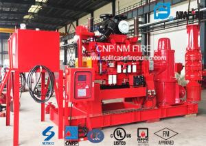 5000GPM Diesel Engine Vertical Shaft Turbine Fire Pump For