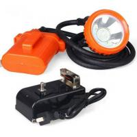 High Powered LED Miners Cap Lamp / Coal Miners Headlamp With Rechargeable Battery