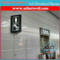 China Wall Mounted LED Directional Signage Light Box on sale