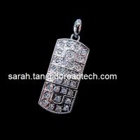 China Jewelry USB Flash Disks, 100% Original and New Memory Chip on sale