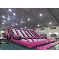 Huge Insane Inflatable Obstacle Challenges For Adult With Digital Printing Logo