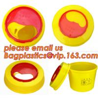 Disposable Hospital Biohazard Sharp Collector Waste Bin, medical waste Biohazard Bags medical waste disposal bins, hospi