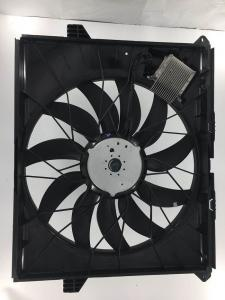 China OEM 1645000093 Radiator Cooling Fans Kit With Control Module Mercedes Benz Car Parts on sale