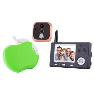 China 3.5 inch wireless peephole video door phone with infrared vision on sale