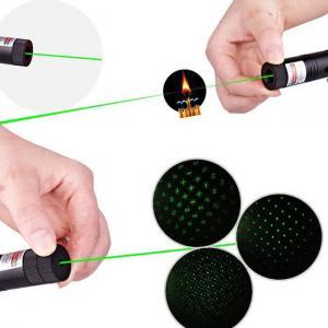 China Ponteiro chave 303 532nm 100mw do laser do poder superior da segurança com raio laser verde visível on sale