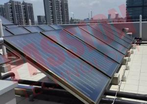 China Low Emission Flat Plate Solar Heat Collector For Swimming Pool Solar Water Heater on sale