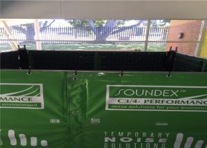 China Highway sound barrier fence panels Light duty PVC membrane light duty design on sale