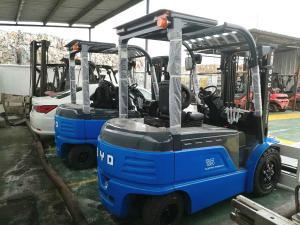 China New Power BYD Electric Powered Forklift 3.5T Electric Counterbalance Forklift on sale