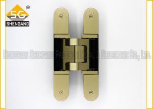 Quality Metal las bisagras ajustables encubiertas 3d de la puerta de 180 grados resistentes for sale