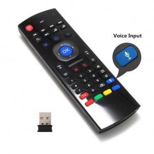 China Android Box Keyboard Remote Control / Fly Air Mouse Remote ControlWith Voice Input on sale