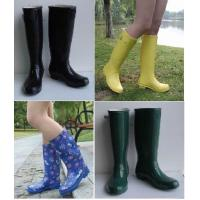 China New Fashion Rubber Rain Boots, Ladies' Rubber Boots, Women Rain Boots on sale