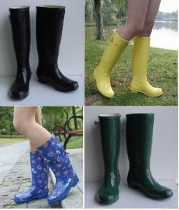 China Various Woman Rubber Boots on sale