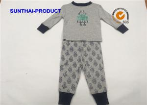 China Robot Screen Print Kids Clothing Sets , Color Customized Baby Boy Clothing Sets on sale