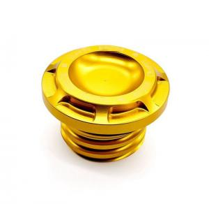 China Auto Parts Custom CNC Milling Yellow Anodized Polish Micro Machining 2 Years Warranty on sale